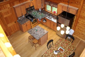 Kitchen from above
